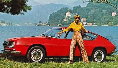 1969 Lancia Fulvia Sport Factory Photo J4308
