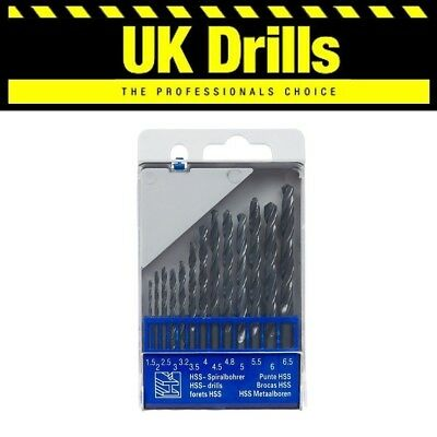 FULL RANGE OF DRILL SETS - HSS, WOOD, MASONRY, SDS+ DRILLS, SET 3pc - 19 PIECE