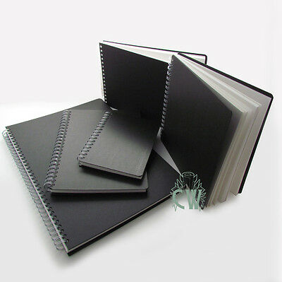 A4 Landscape Seawhite Spiral Bound Euro Hardback Sketchbook. Artists Sketch Book