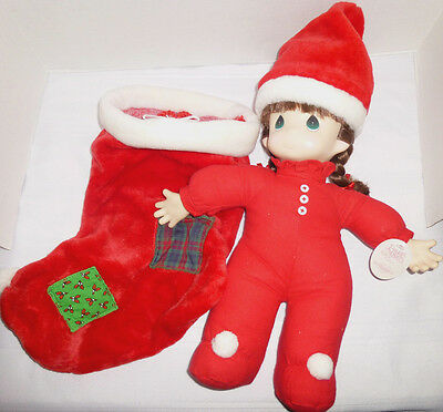 Precious Moments Nicole Limited Edition #1056 Christmas Stocking NWD