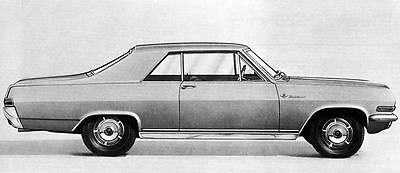 1966 Opel Diplomat Coupe Factory Photo J4874