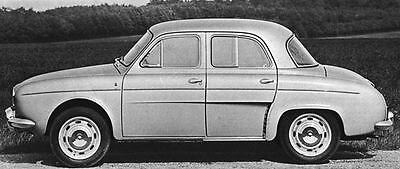 1966 Renault Dauphine Gordini Factory Photo J4940