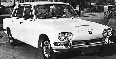 1966 Triumph 2000 Saloon Factory Photo J5019