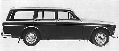 1966 Volvo 221 Factory Photo J5041