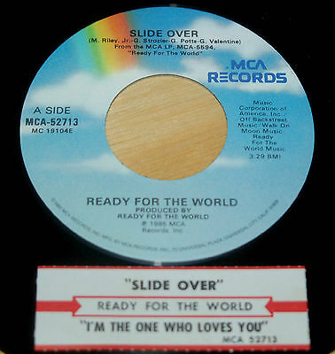 Ready For The World 45 Slide Over / I'm The One Who Loves You