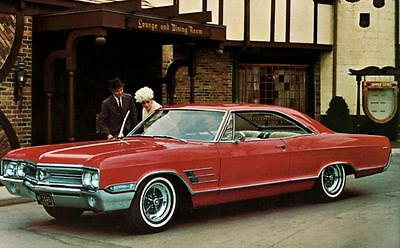 1965 Buick Wildcat Sport Coupe Factory Photo J5115