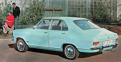 1968 Opel Olympia 4 Door Sedan Factory Photo J5153