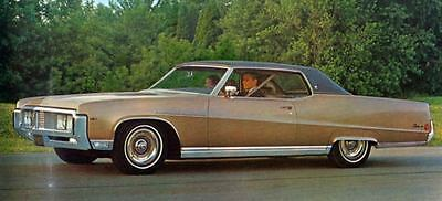 1969 Buick Electra 225 Sport Coupe Factory Photo J5215