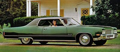 1970 Oldsmobile 98 Holiday Coupe Factory Photo J5253