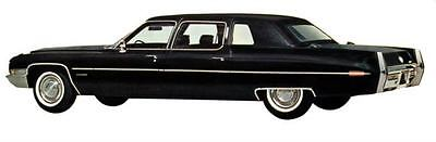 1971 Cadillac Fleetwood 75 Limousine Factory Photo J5317