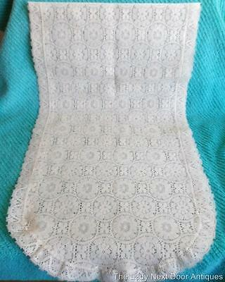 Gorgeous Vintage Lace Table Runner  28 X 50