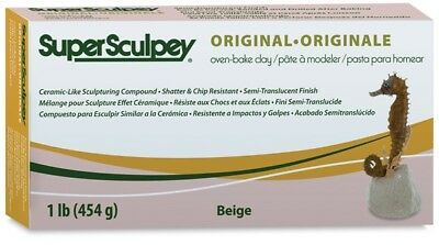 Super Sculpey Polymer Modelling Clay 6lb pack (2.7kg) - Individually Boxed