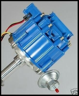 Ford Inline Six 6 Cylinder 144 170 200 250 Hei Distributor 6527-Blue