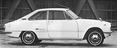 1967 Isuzu Bellett 1600GT Fastback Coupe Factory Photo J5653