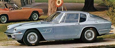 1967 Maserati Mistral Coupe Factory Photo J5684