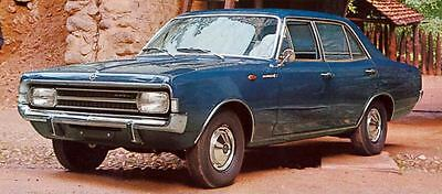 1967 Opel Rekord L 4 Door Factory Photo J5768