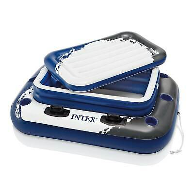 Intex Inflatable Mega Chill II 72 Can Beverage Cooler Float With Lid   58821EP