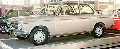 1968 BMW 1600TI Factory Photo J5989