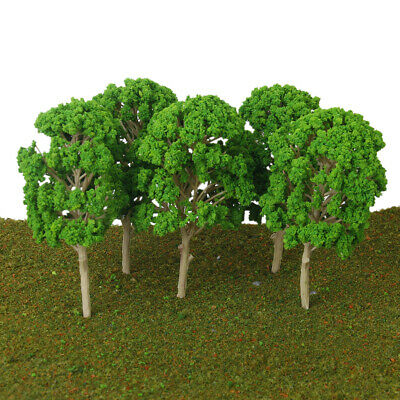 5x 15cm Model Mulberry Trees for Architecture Train Railway Wargame Park Scenery