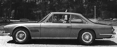 1968 Maserati Mexico Factory Photo J6149