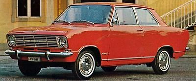 1968 Opel Kadett L Factory Photo J6202