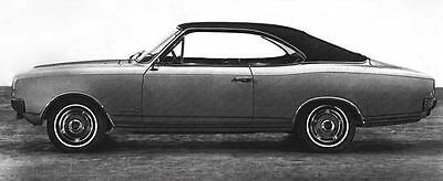 1968 Opel Commodore Coupe Factory Photo J6212