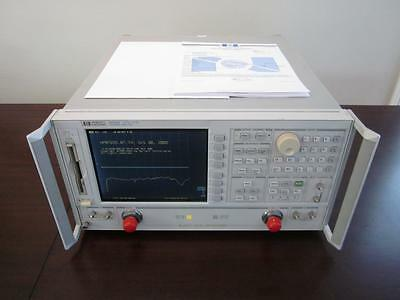 Agilent HP 8722D 50 MHz - 40 GHz Network Analyzer w/ Opts 010 & 1D5 - CALIBRATED