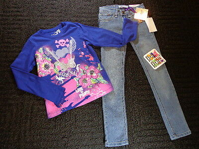 NWT New Girls Size 7 Wholesale Fall Winter Clothes Lot Shirt Outfits