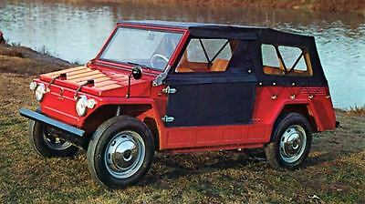 1968 Fiat 600 Jungla Savio Jolly Factory Photo J6341