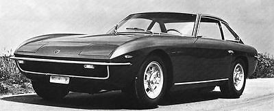 1969 Lamborghini Islero Factory Photo J6504