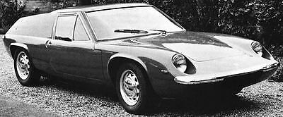1969 Lotus Europa Factory Photo J6513