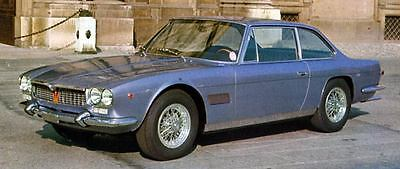 1969 Maserati Mexico Factory Photo J6520