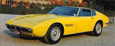 1969 Maserati Ghibli Factory Photo J6521