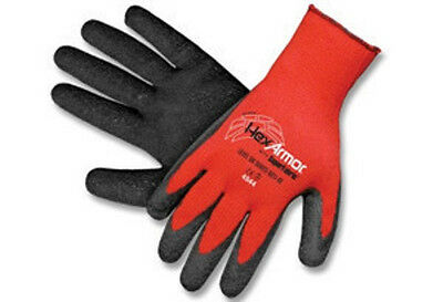 HexArmor 9000 Series Red and Black ANSI Level 5 Cut Resistant Gloves- Medium