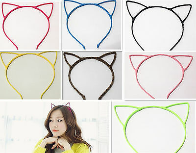 New Wholesale Ladies Cat Ear Cute Lovely Headband Hair Band In 7 Colors 2013