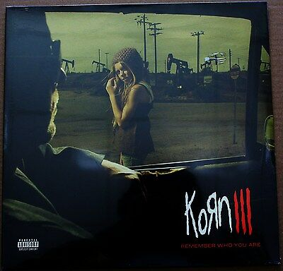 KORN - III Remember who you are - LP VINYL 2010 SIGILLATO SEALED