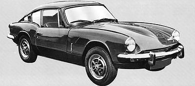 1969 Triumph GT6 Mk II Factory Photo J6635