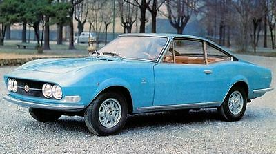 1969 Moretti Fiat 125GS 1.6 Coupe Factory Photo J6665