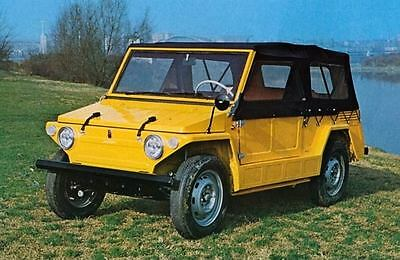 1969 Savio Fiat 600 Jungla Jeep Factory Photo J6676