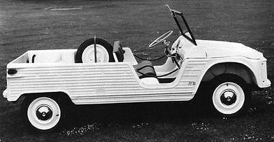 1970 Citroen Mehari Factory Photo J6743