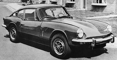 1969 Triumph GT6 Mk II Factory Photo J6908