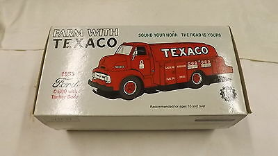 1st Gear Farm With Texaco 1953 Ford C-600 Tanker Box Only