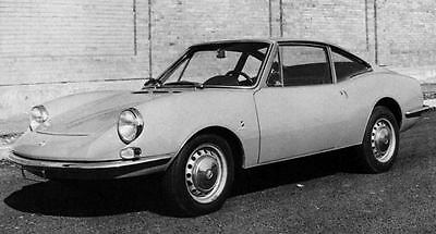1970 Fiat Moretti 1000 Coupe S2 Factory Photo J6979