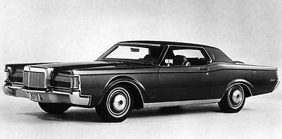 1970 Lincoln Continental Mk III Hardtop Factory Photo J7070