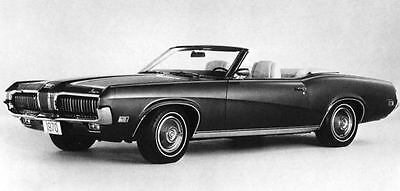 1970 Mercury Cougar XR7 Convertible Factory Photo J7073