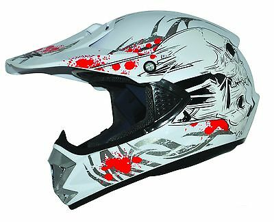 Kids Pro Motorradhelm Crosshelm Motorradhelm Quadhelm Kinder Cross Enduro Helm