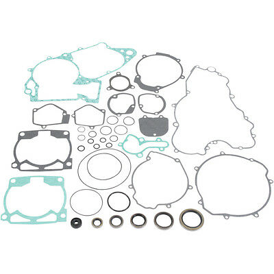 Moose Racing Complete Gasket Kit w/Oil Seals fits KTM 250 SX 00-02, EXC 00-03