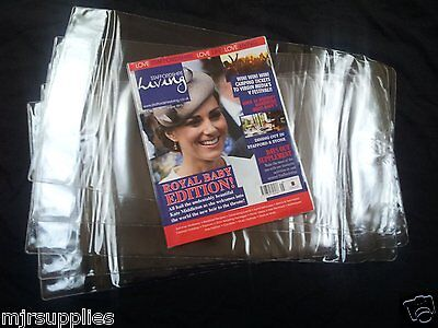 3 x PAPERBACK OR TEXT BOOK ADJUSTABLE COVERS 260mm size clear plastic reusable!