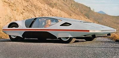 1971 Ferrari PF Modulo Pininfarina Factory Photo J7443