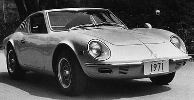 1971 Puma GTE1600 Factory Photo Brazil J7602